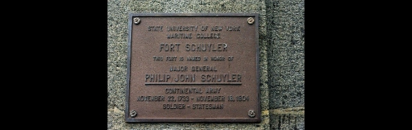 General Schuyler Plaque
