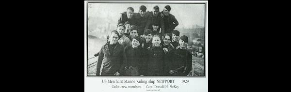 Aboard the Newport 1929